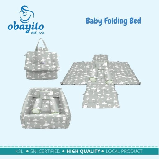 Baby Folding Bed 2