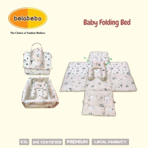Baby Folding Bed Belabebo