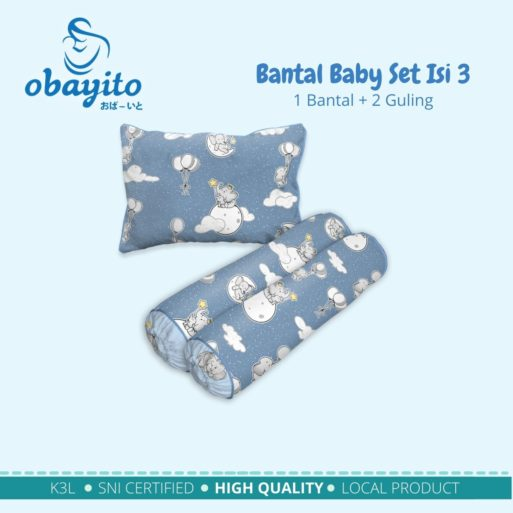 Bantal Baby Set Isi 3 2