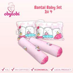 Bantal Baby Set Isi 4 Obytobi