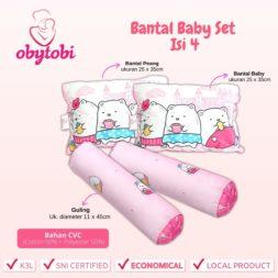 Bantal Baby Set Isi 4 Ukuran Obytobi