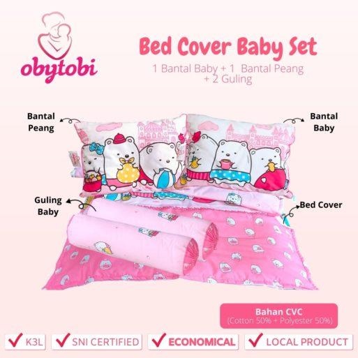 Bed Cover Baby Set Ukuran Obytobi