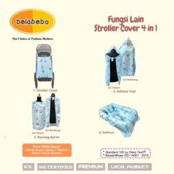 Fungsi Lain Stroller Cover 4 in 1 Belabebo