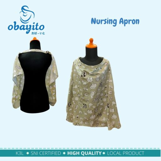 Nursing Apron Obayito