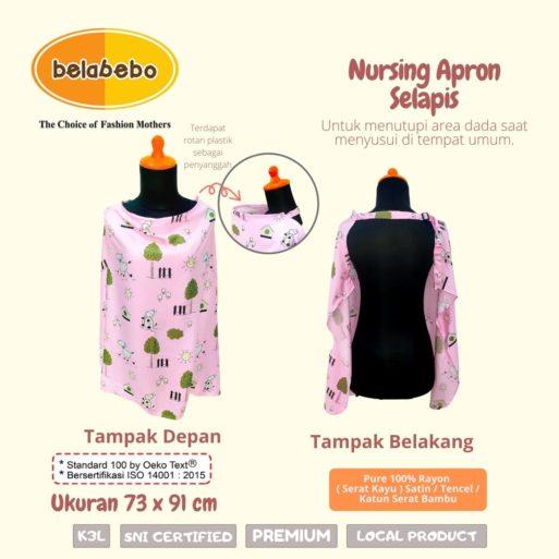 Nursing Apron Selapis Ukuran Belabebo