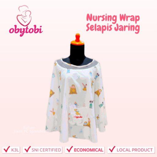 Nursing wrap selapis jaring obytobi