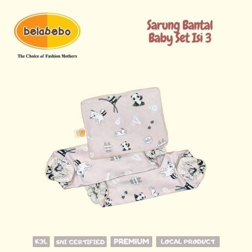 Sarung Bantal Baby Set Isi 3 3