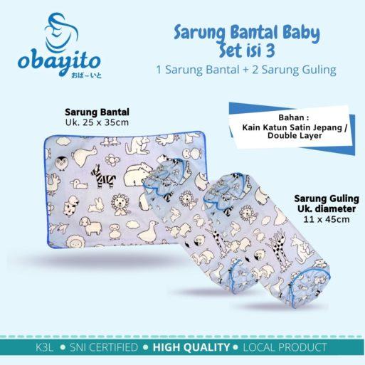 Sarung Bantal Baby Set isi 3 1