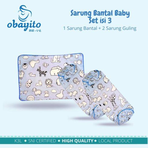 Sarung Bantal Baby Set isi 3 2