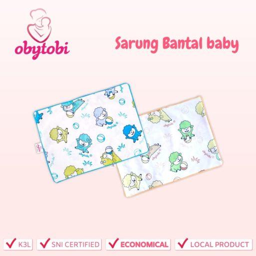Sarung Bantal baby Obytobi