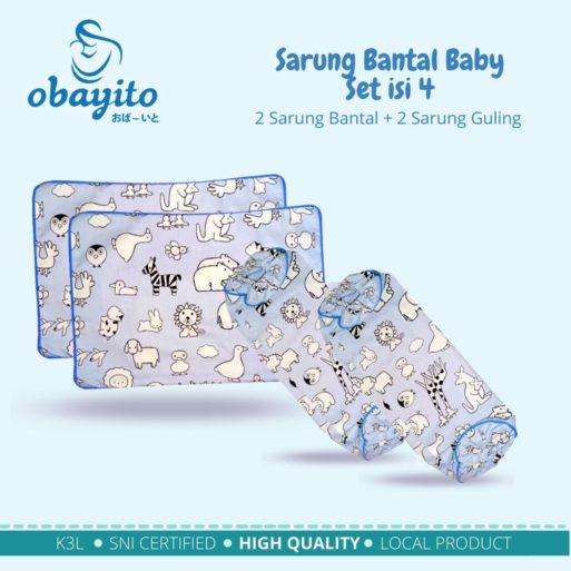 Sarung bantal baby set isi 4 2 1