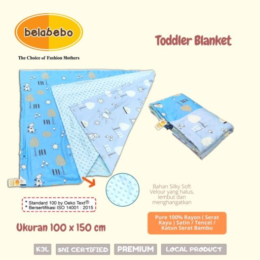 Toddler Blanket Belabebo
