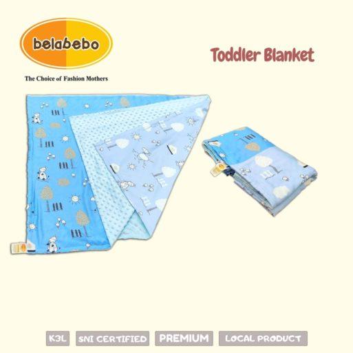 Toddler Blanket Ukuran Belabebo