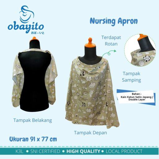 Ukuran Nursing Apron Obayito Terbaik