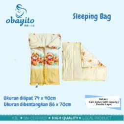 Ukuran sleeping bag dari obayito terbaik