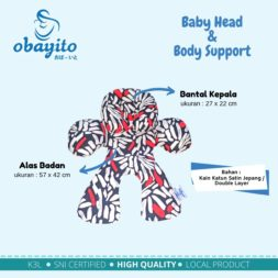 ukuran dari baby head body support