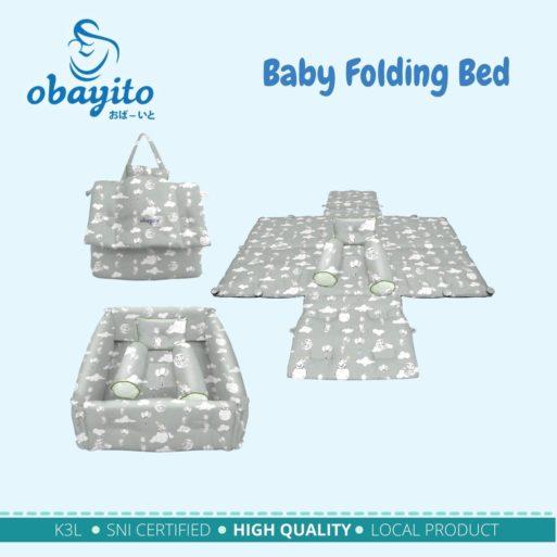 Baby Folding Bed Obayito