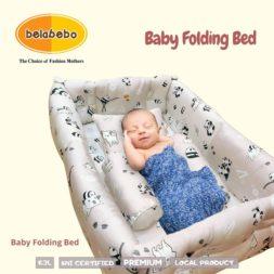Baby Folding Bed sebagai Kasur Kolam