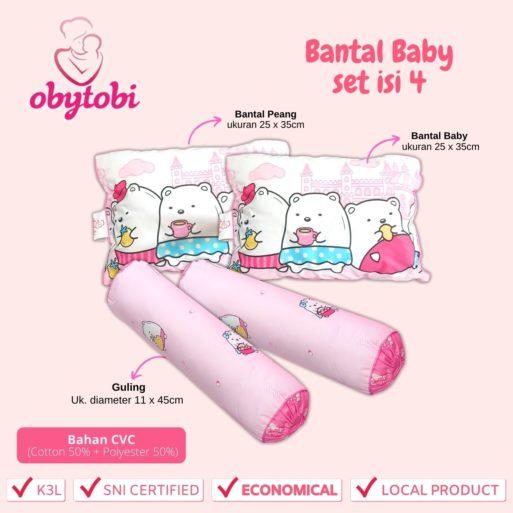Bantal baby set isi 4 1