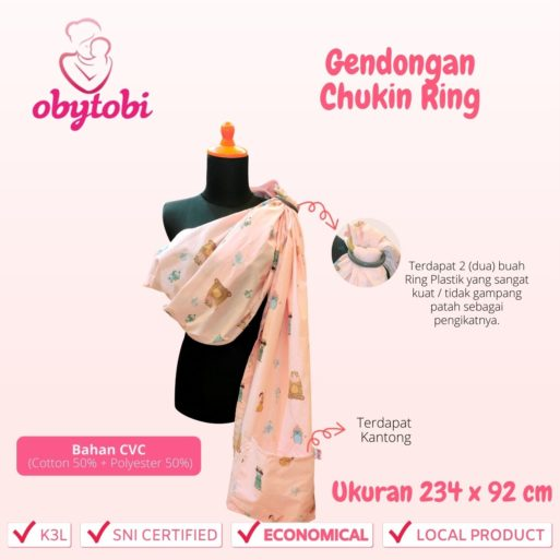 Gendongan Chukin Ring 1
