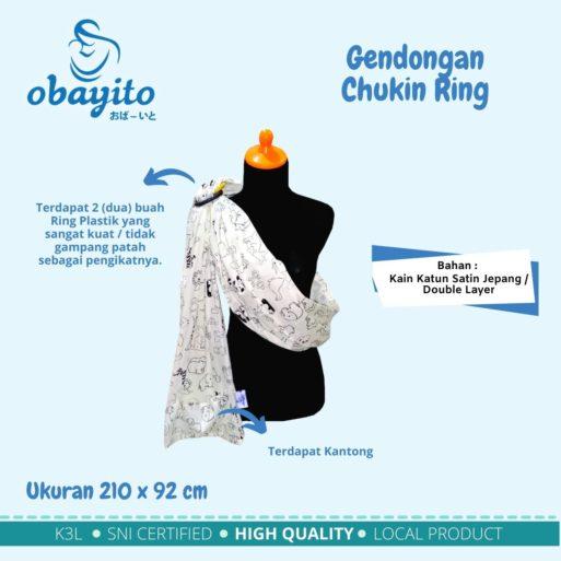 Gendongan Chukin Ring
