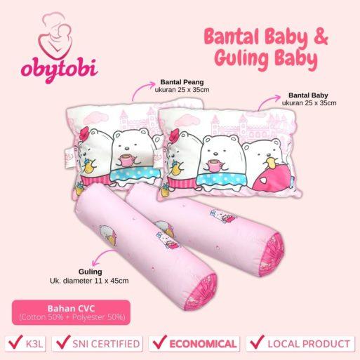 bantal Baby guling baby